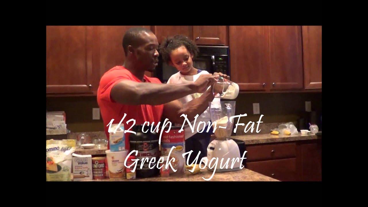 Nutrition Whey Protein Banana Bread