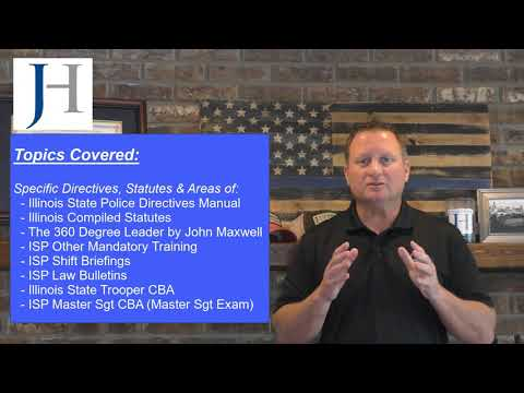 Illinois State Police Sgt and Master Sgt Exam