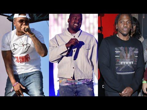 Kanye West producing Nas and Pusha T new albums