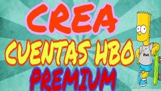 CREA CUENTAS HBO GO PREMIUM | Método 2017 | sorteosRiffs