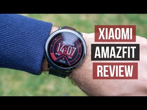 Xiaomi Amazfit Smartwatch Review English | Sport Addict? Watch This First!