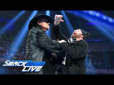 The Undertaker answers Sami Zayn's disrespect with Chokeslam: SmackDown LIVE, Sept. 10, 2019
