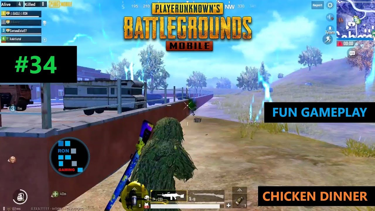 [Hindi] PUBG MOBILE | INTENSE SCHOOL FIGHT IN THE END ZONE & CHICKEN DINNER
