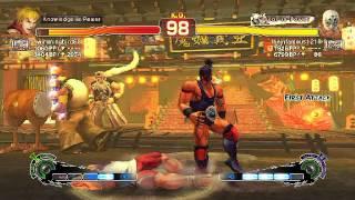 El Fuerte Dynamite and Ultra Spark?! : USF4 Ken vs El Fuerte