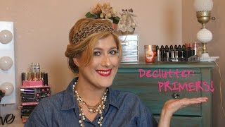 Declutter with me - Primers