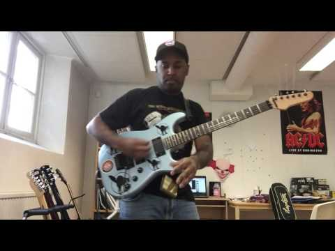 Mic Check guitar solo cover