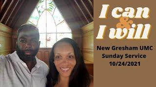 New Gresham UMC Sunday Service 10/24/2021