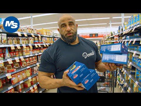 Budget Grocery Shopping W/ Pro Bodybuilders | Fouad Abiad's OG Grocery Hauls