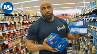 Budget Grocery Shopping w/ Pro Bodybuilders | Fouad Abiad's OG Grocery Hauls