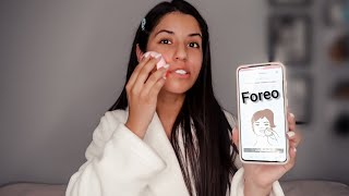 #FOREO UFO FACE MASK REVIEW ! IS IT WORTH THE MONEYYY ??? 🤷🏻♀️