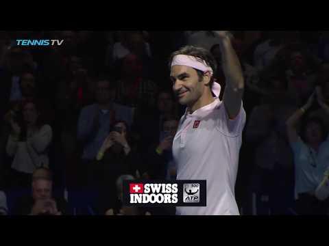 Federer downs Struff; Zverev, Tsitsipas Win | Basel 2018 Highlights Day 4