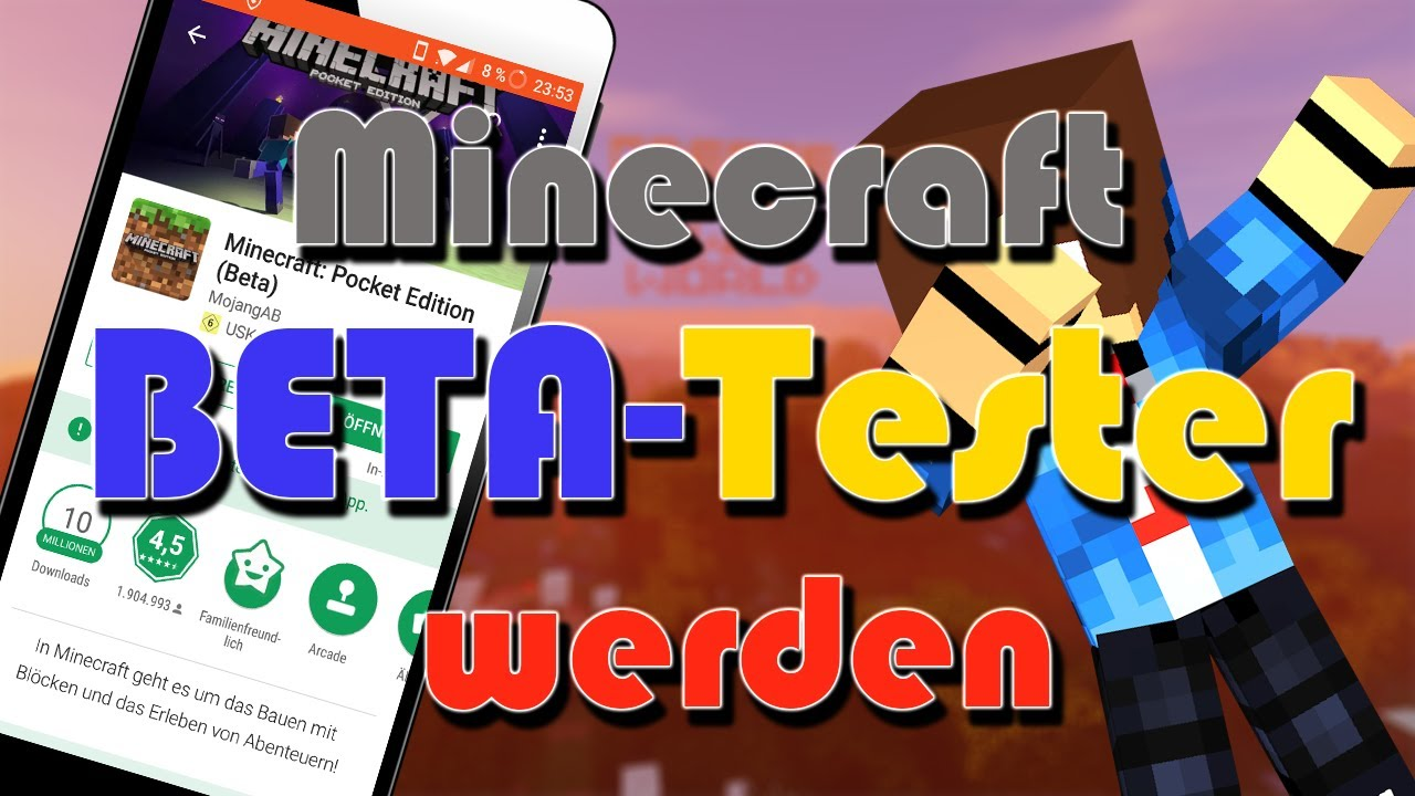 how to stop being a beta tester for minecraft pe