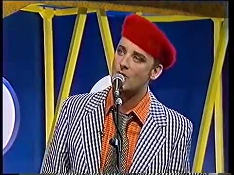 Boy George. Everything I Own (Hippy Trippy Mix) (Live on French TV 1993)