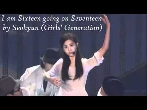 SNSD Seohyun- I am 16 going on 17 Lyrics