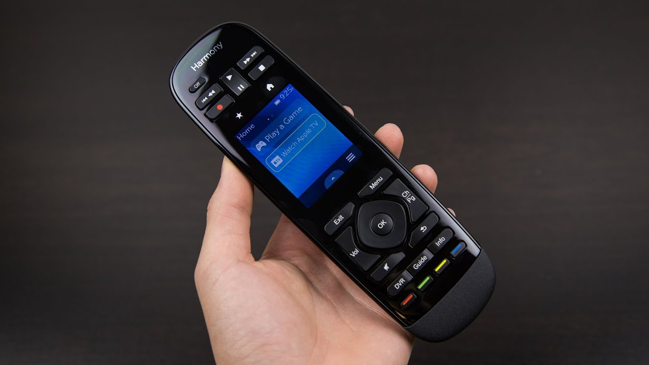 085d90bbc57 Logitech Harmony Ultimate Remote Review - YouTube