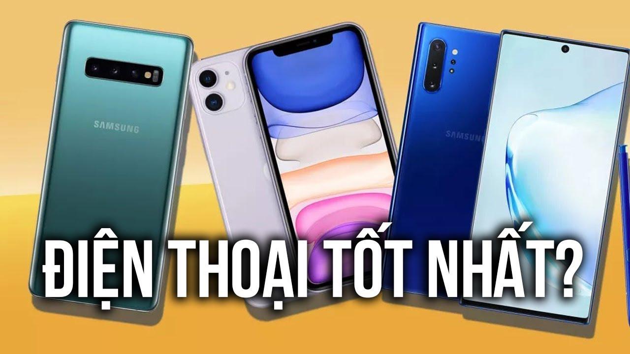 10 điện thoại TỐT nhất thế giới hiện nay