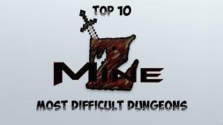 Top 10 Hardest MineZ Dungeons