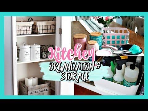 KITCHEN/PANTRY ORGANIZATION AND STORAGE