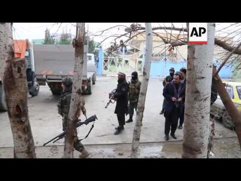 Clashes after gunmen attack Indian consulate