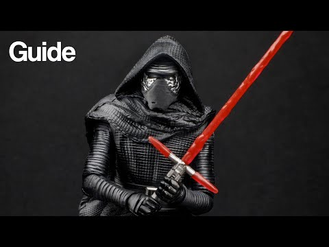 "Custom Star Wars 3.75"" Kylo Ren Figures (How To Kitbash)"