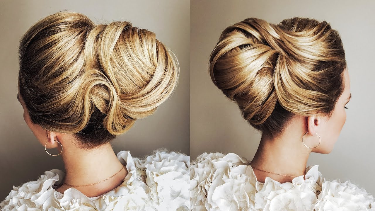 new year 2019 hairstyles tutorial stunning low bun   textured bun