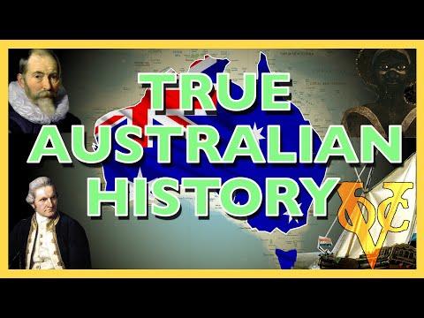 Australian History - The True Story Of Australian History Part 1