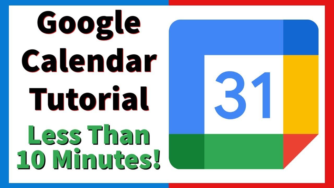 Google Calendar Tutorial With Mobile Application - 2021 Tutorial