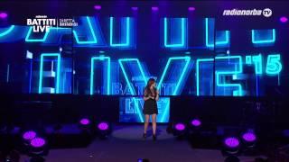 Annalisa - Battiti Live 2015 - Brindisi