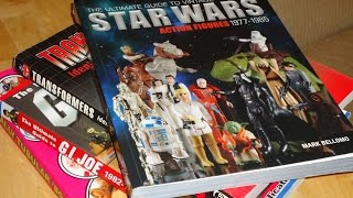 Ultimate Guide to Vintage Star Wars Action Figures book MIKE PLAYS WITH TOYS #24