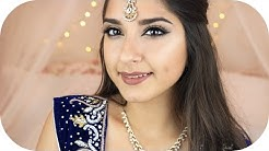 Indisches Bollywood Make Up Look | Sanny Kaur ft. TamTam