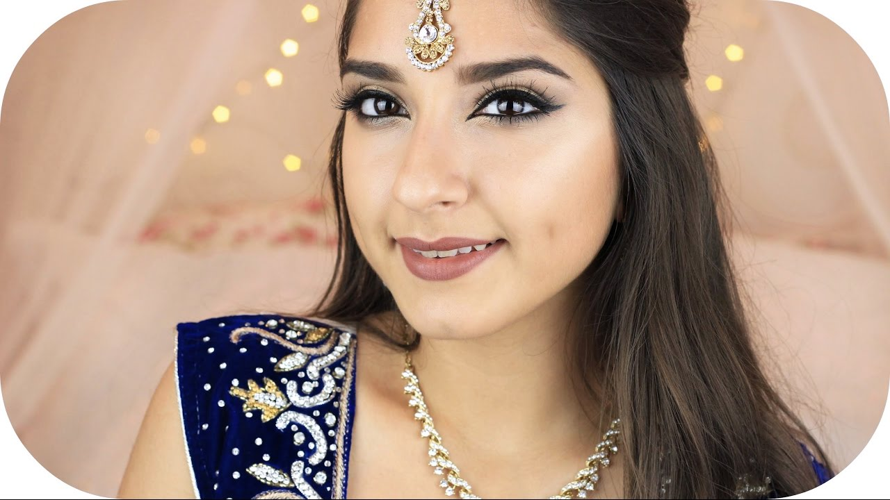 Indisches Bollywood Make Up Look Sanny Kaur Ft Tamtam