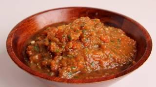 Roasted Pepper Salsa Recipe