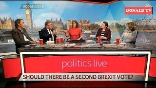 BBC Politics Live 08/03/2019 SHOULD THERE BE A SECOND BREXIT VOTE?