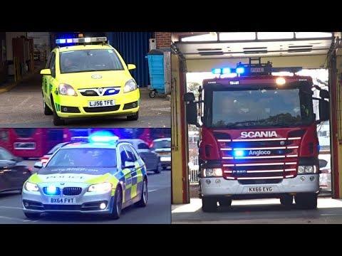 Emergency Vehicles Responding - BEST OF SEPTEMBER, OCTOBER + NOVEMBER 2017