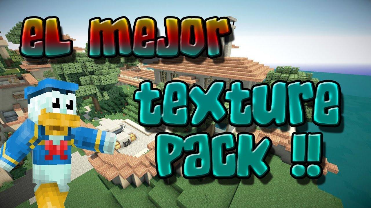El Mejor Pack De Texturas Minecraft 1.7.2/1.6.4 - Review + Instalacion Y Descarga HD - YouTube