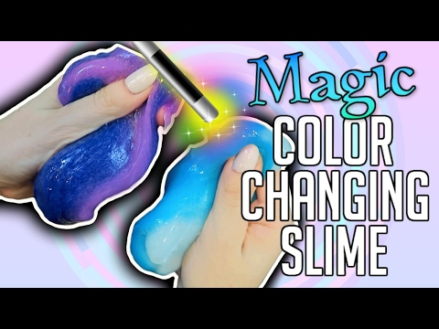 DIY MAGIC COLOR CHANGING SLIME