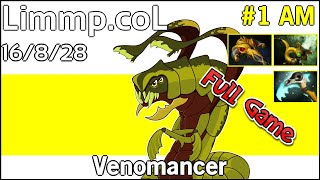 Limmp coL Venomancer - Dota 2 Full Game 7.17