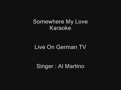 Somewhere My Love - Karaoke - Al Martino - The Essential