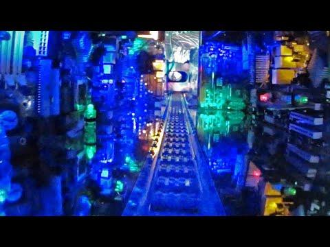 Lego Train DreamRide - 2D Version - Amazing Darkride!