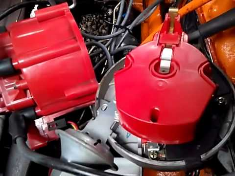 dodge electronic ignition wiring diagram polaris slingshot replacing points with youtube