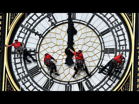 UK - Conservation work set to silence much-loved Big Ben for four years