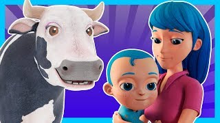 Songs To Stay at Home and Enjoy in Family! - Kids song, Nursery Rhymes