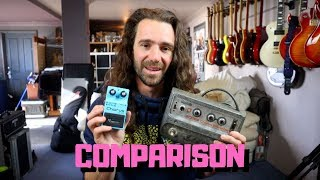 BOSS CE-1 vs CE-2w Comparison