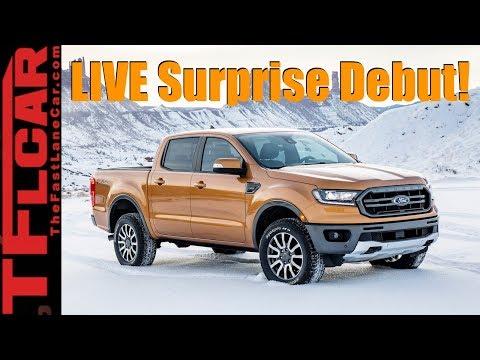 Live: 2019 Ford l Ranger Edge ST and Surprise Bullitt Mustang!