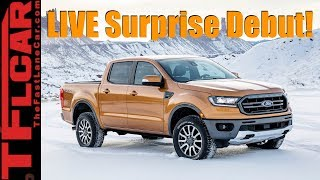 Live: 2019 Ford l Ranger Edge ST and Surprise Bullitt Mustang!