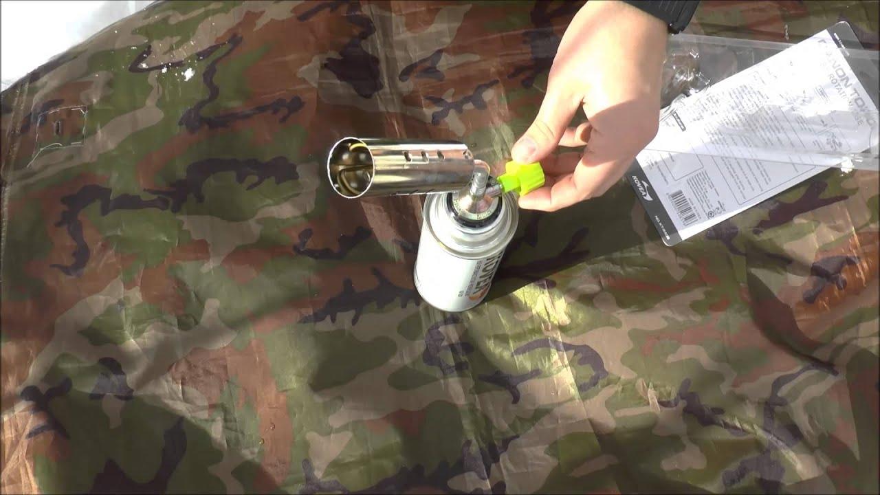 Портативный газовый резак Kovea Kt 2408 - YouTube