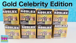 Roblox Gold Collection Celebrity Series 1 Blind Box Opening | PSToyReviews