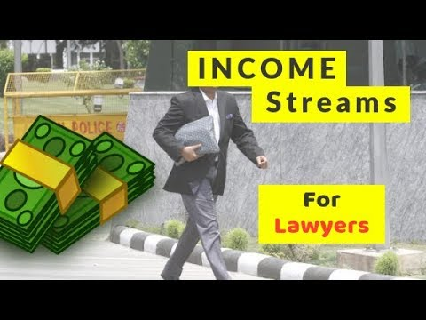 How LAWYERS can make some EXTRA MONEY..!!💸