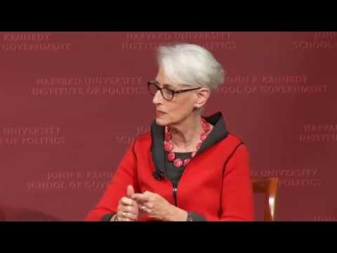The Iran Nuclear Negotiations: A Discussion with Wendy Sherman