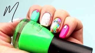 NAIL ART TUTORIAL - Nail Art Dasigns #14 | New Nail Art Complation | (Nail Color Idea) : 2018